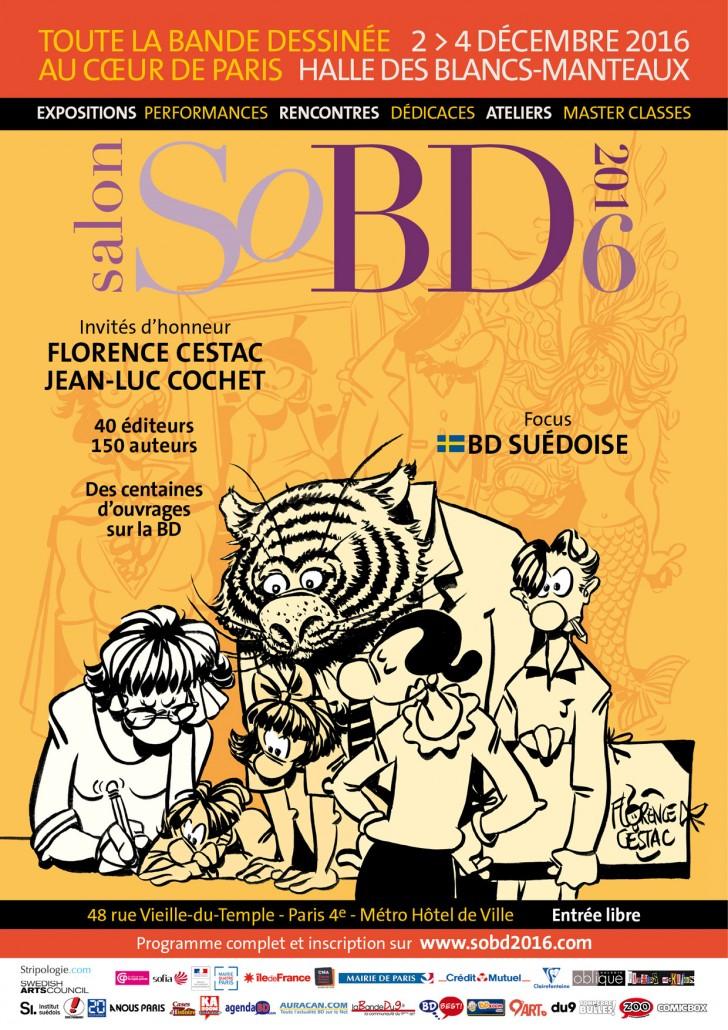 Affiche SoBD 2016