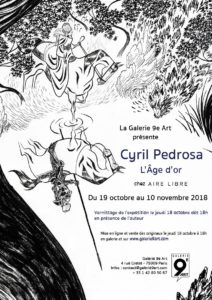 Exposition L'Age d'or, Cyril Pedrosa